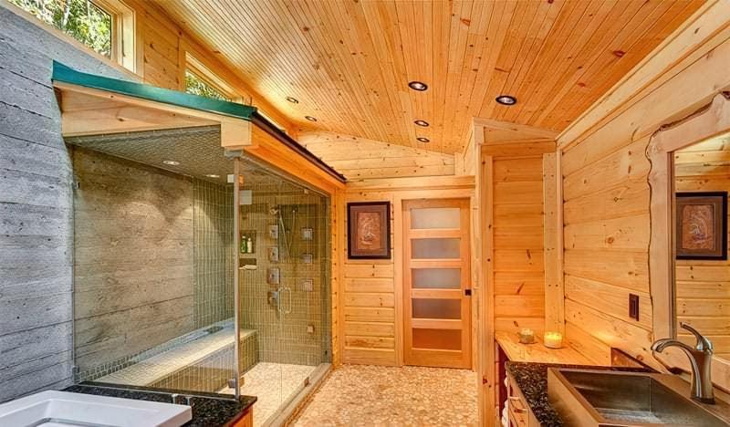 Чим обробити стелю в дерев'яному будинку – огляд матеріалів 4