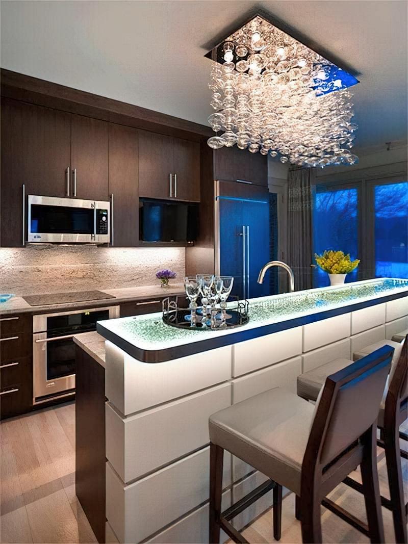 Дизайн кухні в сучасному стилі - поради та ідеї 11