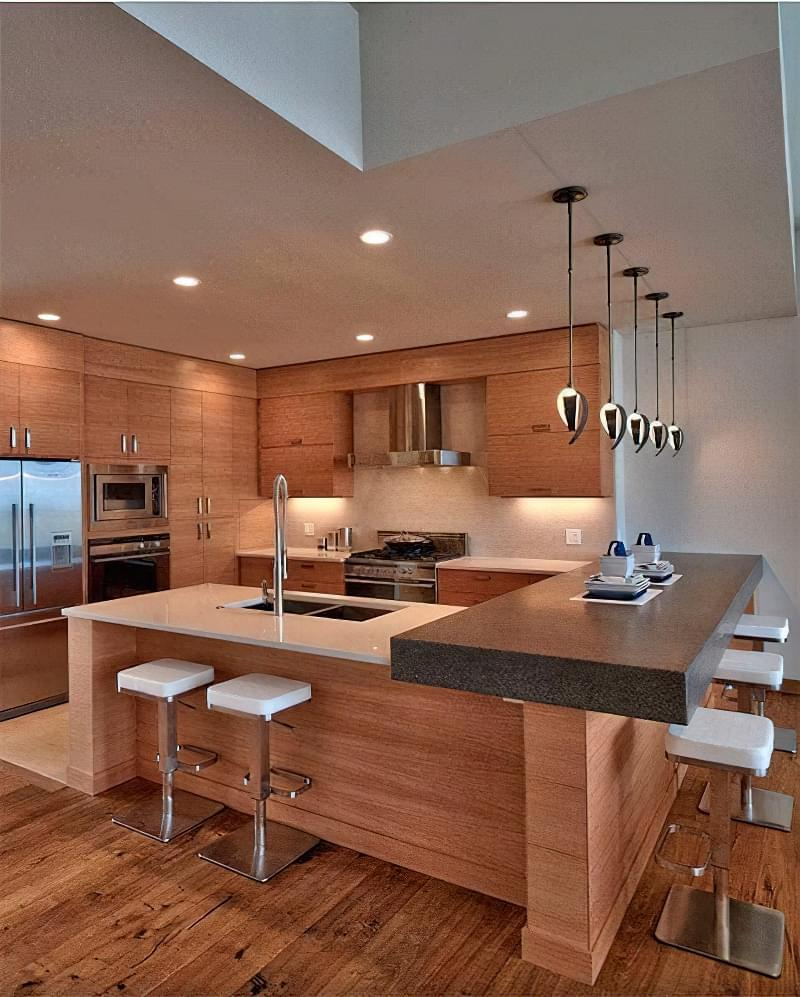 Дизайн кухні в сучасному стилі - поради та ідеї 28