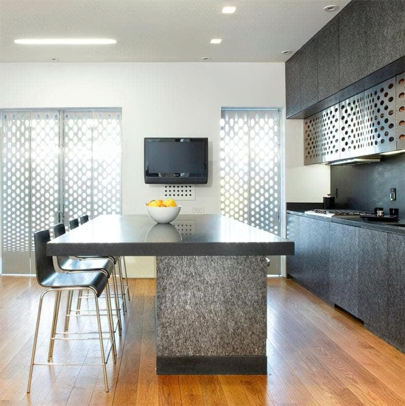 Дизайн кухні в сучасному стилі - поради та ідеї 31