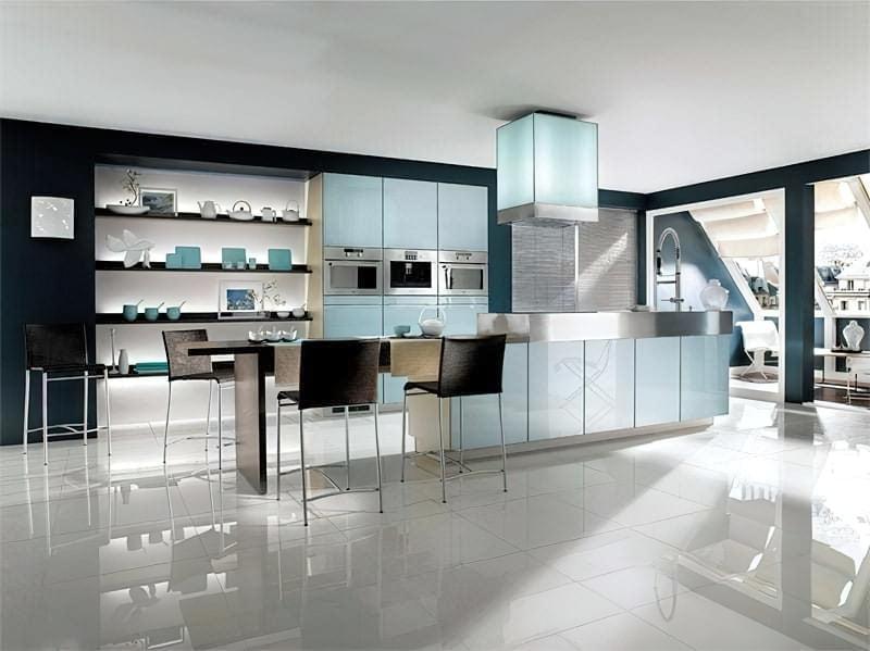 Дизайн кухні в сучасному стилі - поради та ідеї 32