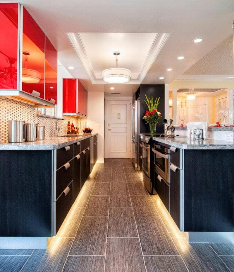 Дизайн кухні в сучасному стилі - поради та ідеї 35