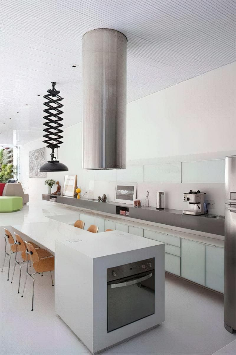 Дизайн кухні в сучасному стилі - поради та ідеї 36