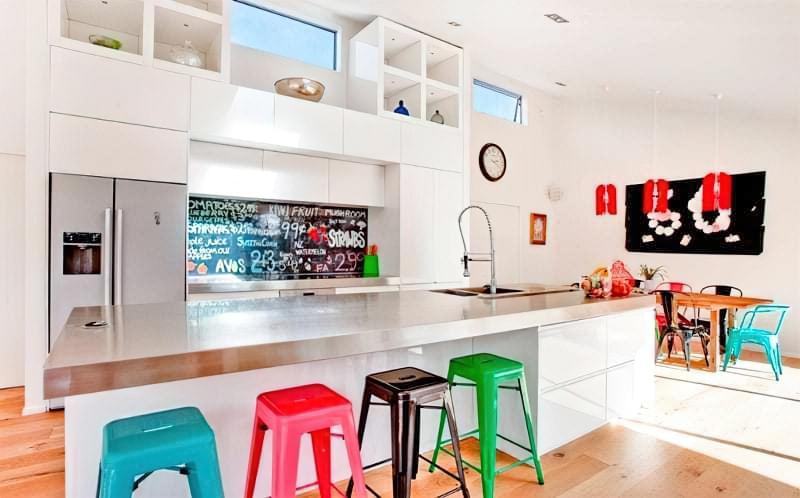 Дизайн кухні в сучасному стилі - поради та ідеї 41