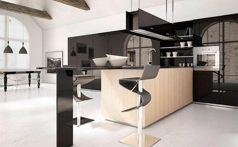 Дизайн кухні в сучасному стилі - поради та ідеї 42
