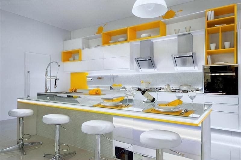 Дизайн кухні в сучасному стилі - поради та ідеї 43