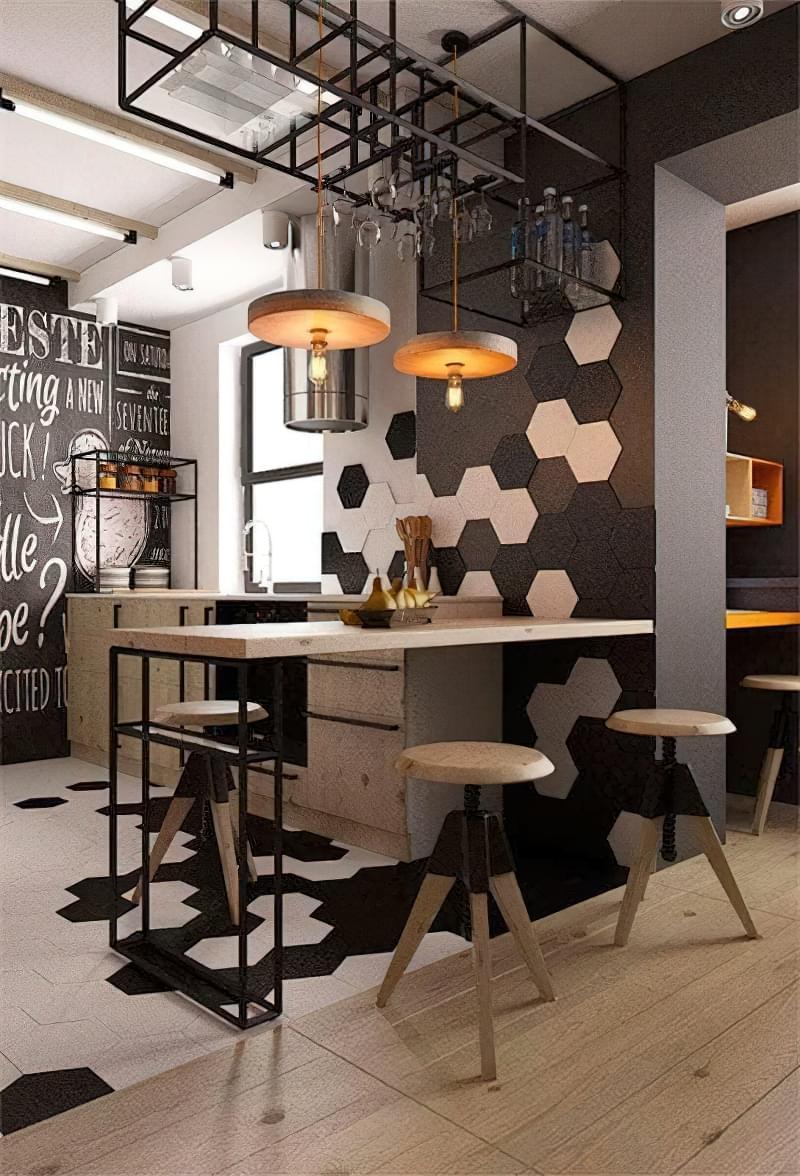 Дизайн кухні в сучасному стилі - поради та ідеї 3