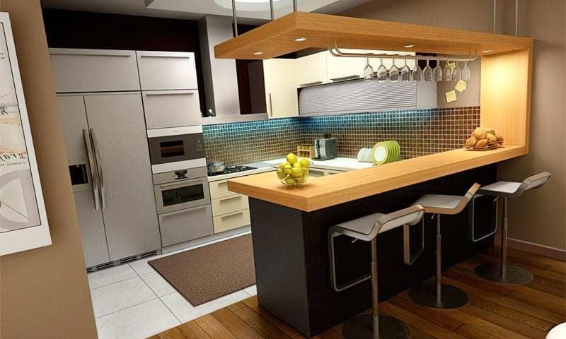 Дизайн кухні в сучасному стилі - поради та ідеї 1