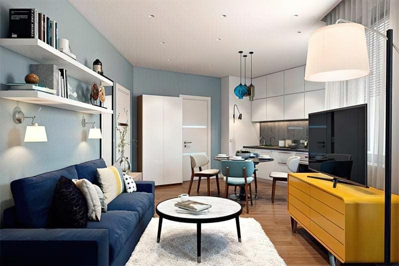 Квартира студія або однокімнатна квартира – в чому відмінність, що зручніше і вигідніше 5