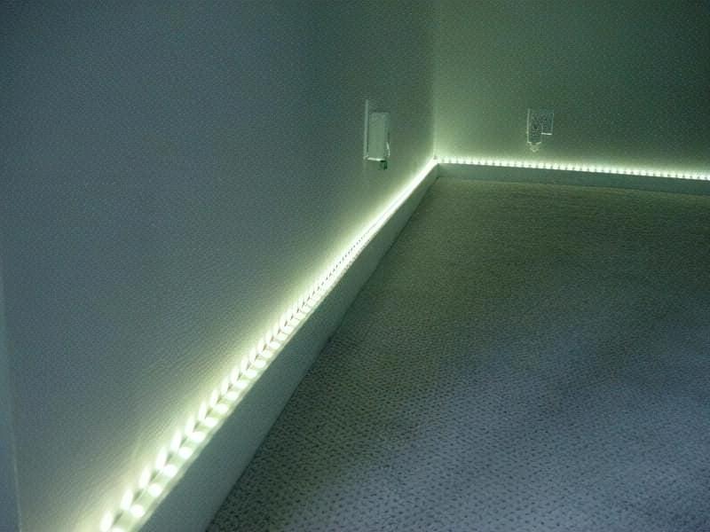 Плінтус з підсвічуванням: цікавий спосіб декору кімнати 1