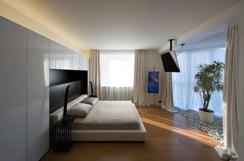 Поради по установці телевізора в спальні 3