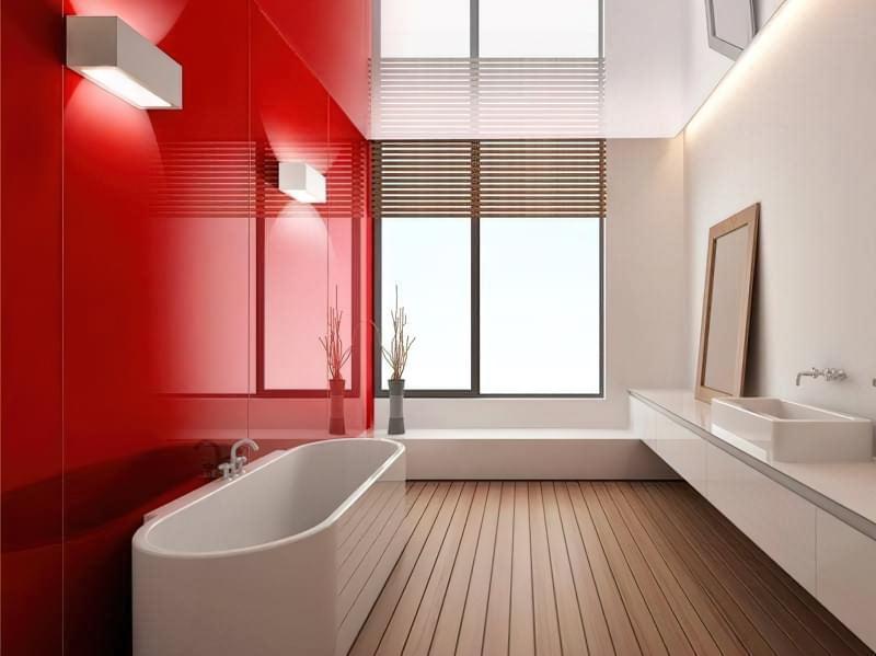 Настінні скляні панелі: можливості дизайну інтер'єру 2