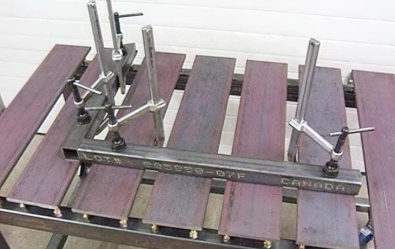 Виготовлення зварювального столу своїми руками 14