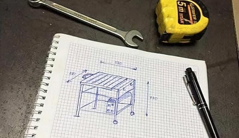 Виготовлення зварювального столу своїми руками 1