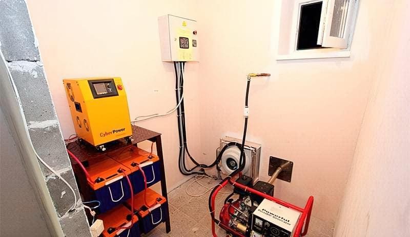 Приміщення для генератора