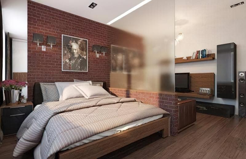 Якими бувають перегородки для зонування простору кімнат? 11