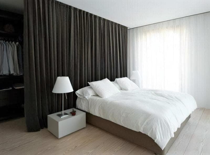 Якими бувають перегородки для зонування простору кімнат? 13