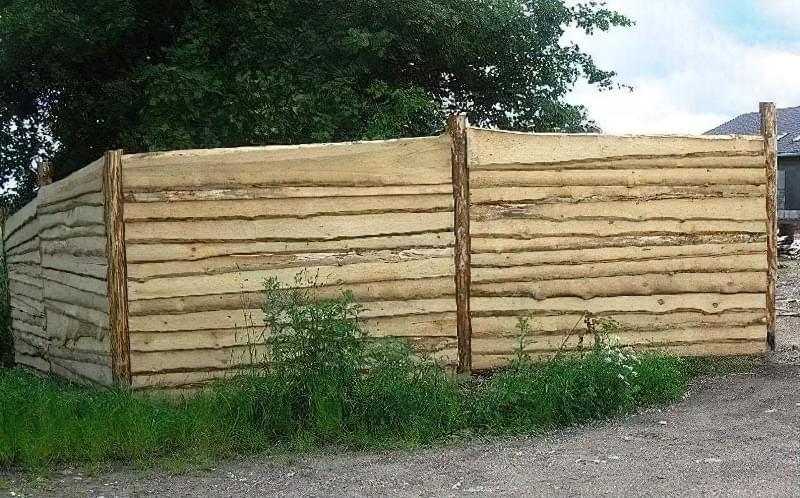 З чого зробити тимчасовий паркан-огорожу на період будівництва? 4