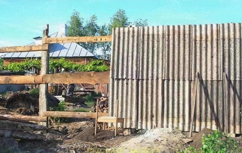 З чого зробити тимчасовий паркан-огорожу на період будівництва? 5