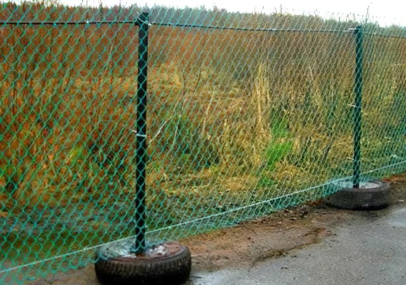 З чого зробити тимчасовий паркан-огорожу на період будівництва? 10