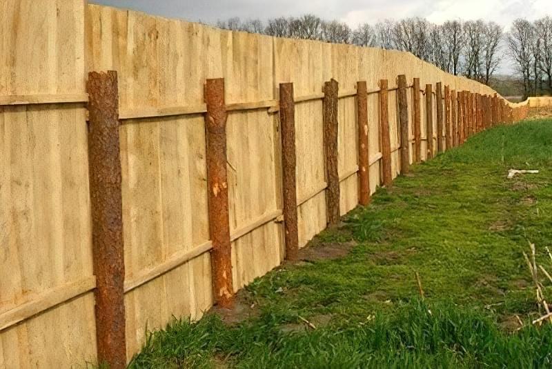 З чого зробити тимчасовий паркан-огорожу на період будівництва? 1