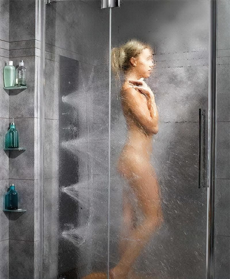 Релакс в душовій кабіні