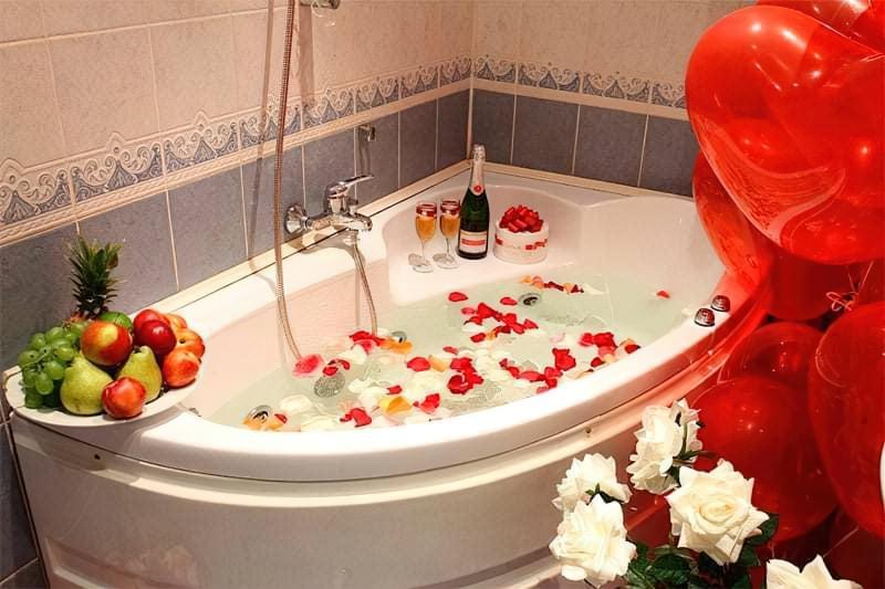 Романтична ванна
