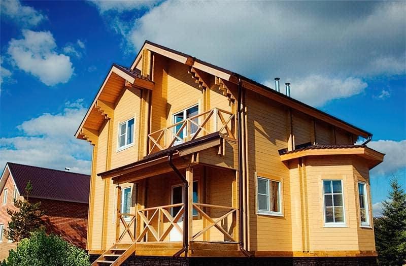 Будинок з подвійного бруса за фінською технологією