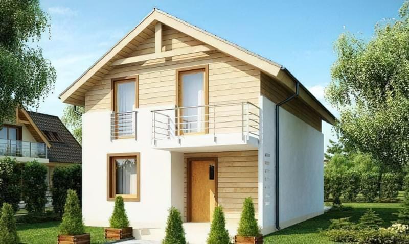 Проекти невеликих двоповерхових будинків 6