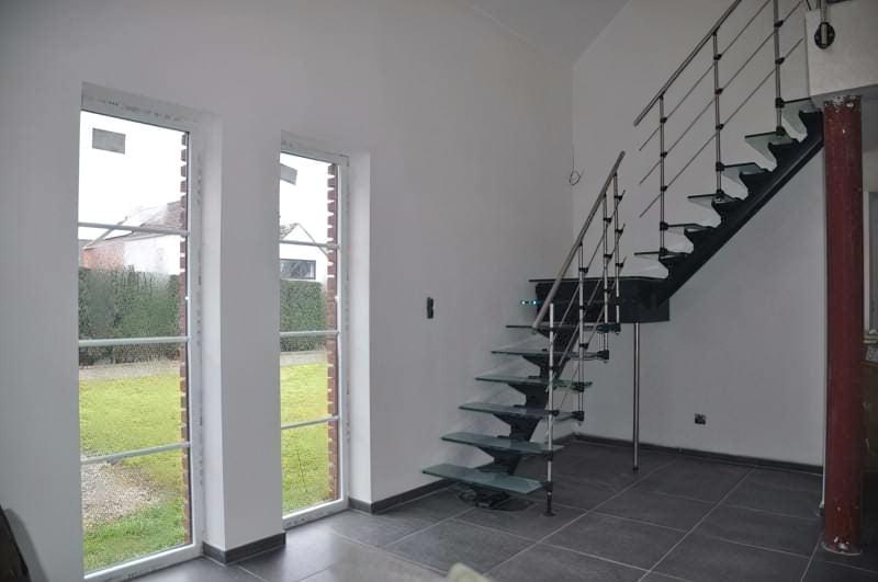 Скляні сходи: види та їх особливості 1