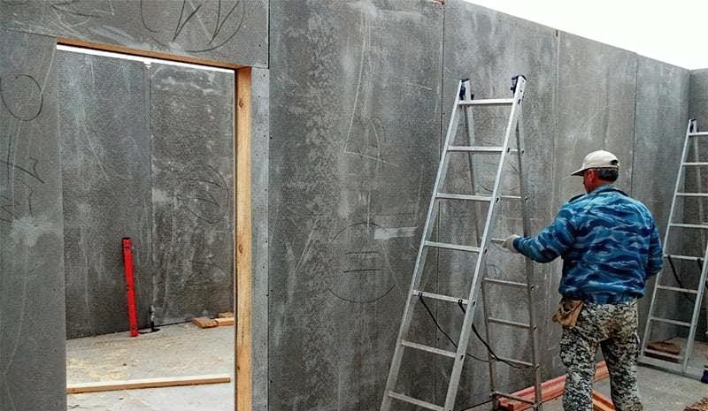 Обшивка стін за допомогою ЦСП