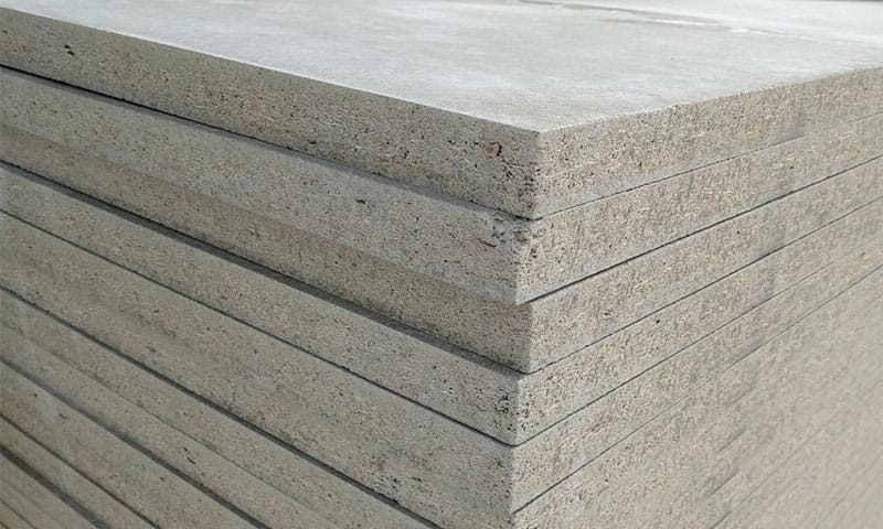 Цементно-стружкова плита - характеристики, властивості, види, застосування 1