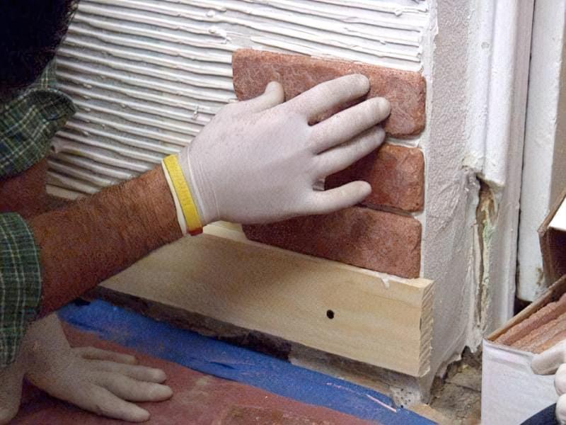 Укладання гіпсового декоративного каменю своїми руками 13