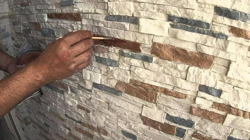 Укладання гіпсового декоративного каменю своїми руками 16