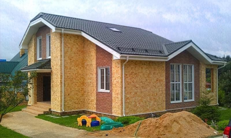 Варіанти обробки будинку з сіп-панелей 2