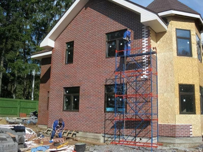 Варіанти обробки будинку з сіп-панелей 13