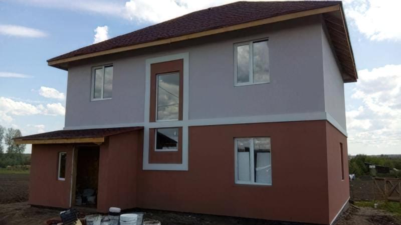 Варіанти обробки будинку з сіп-панелей 17