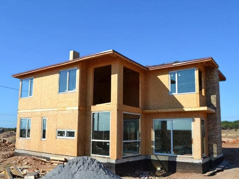 Варіанти обробки будинку з сіп-панелей 3