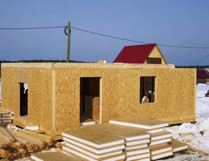 Варіанти обробки будинку з сіп-панелей 5
