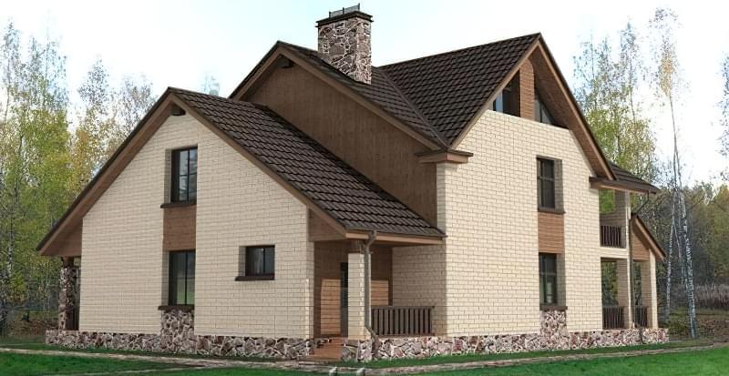 Варіанти обробки будинку з сіп-панелей 6