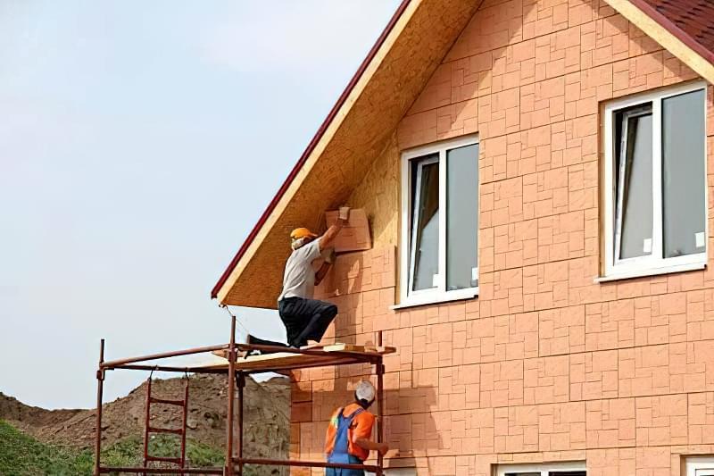 Варіанти обробки будинку з сіп-панелей 10