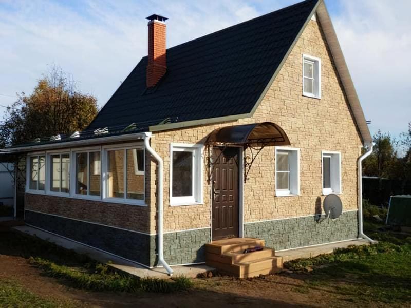 Варіанти обробки будинку з сіп-панелей 1