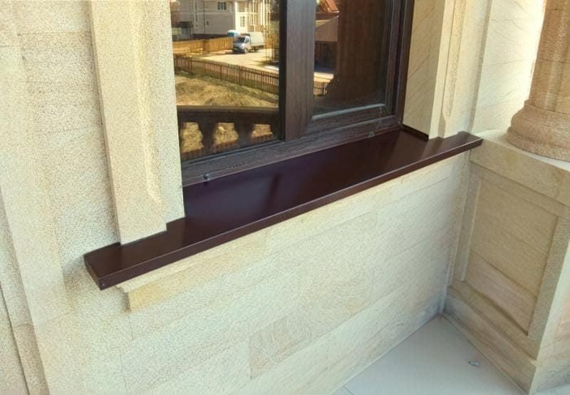 Вибір та встановлення відливу на вікна 6
