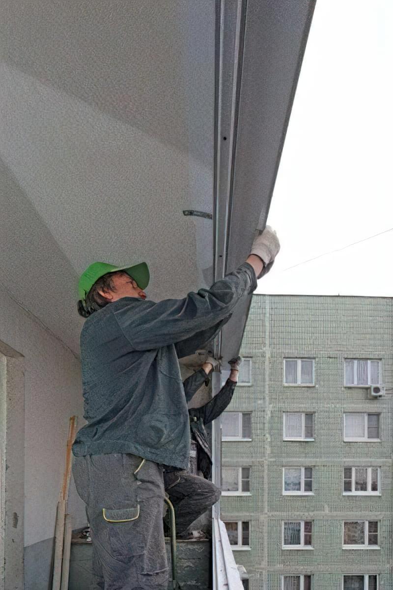 Вибір та встановлення відливу на вікна 9
