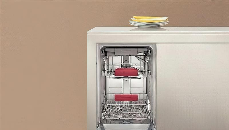 Вузька посудомийка