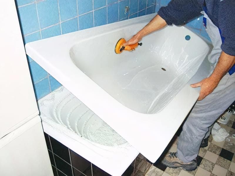 Як провести відновлення та ремонт ванни 13