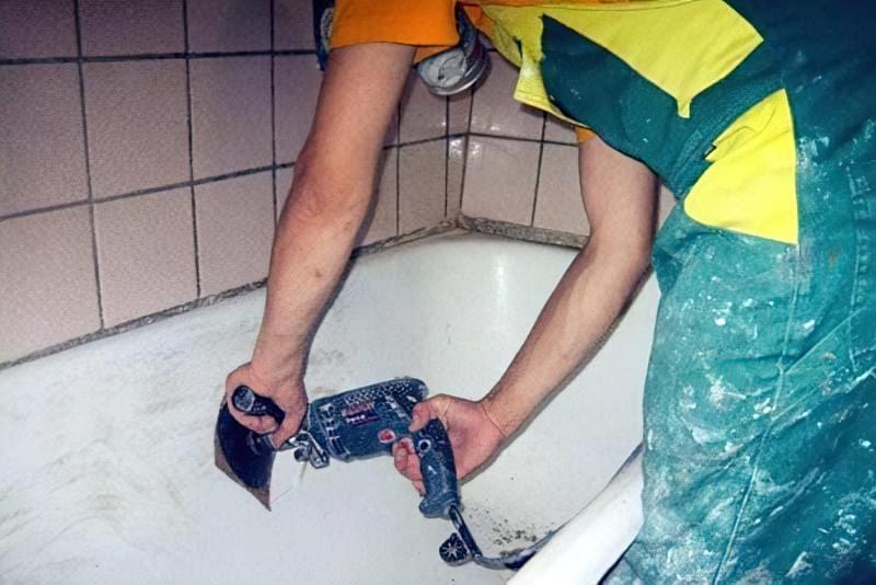 Як провести відновлення та ремонт ванни 9