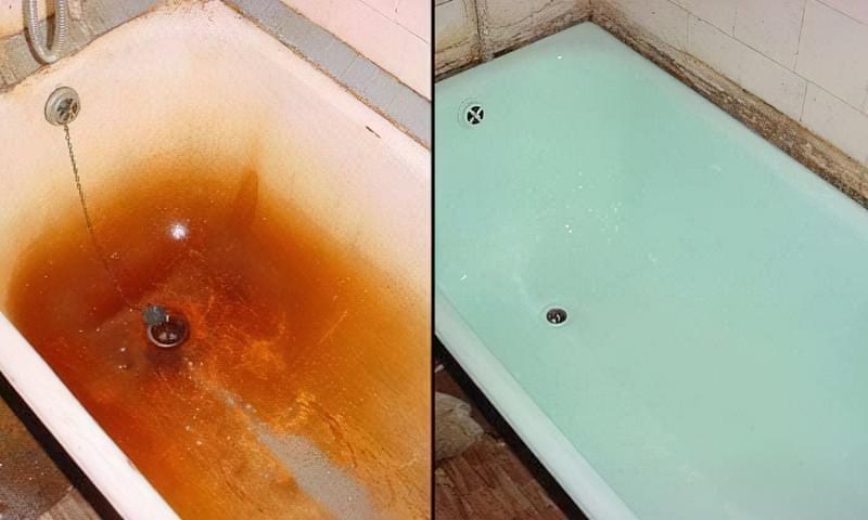 Як провести відновлення та ремонт ванни 1