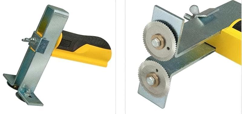 Які інструменти застосовуються для роботи з гіпсокартоном і профілями 9