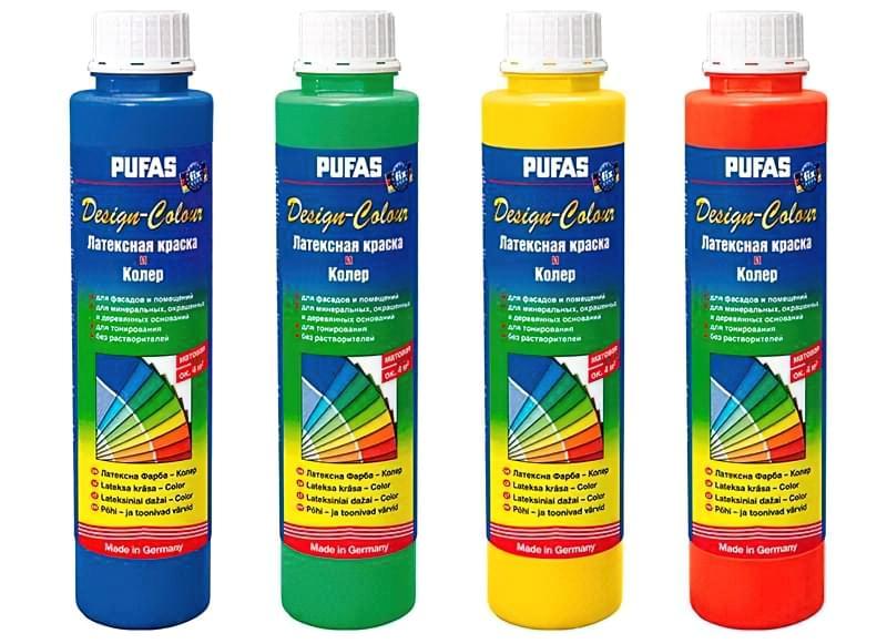 Пігменти для колеровки фарби